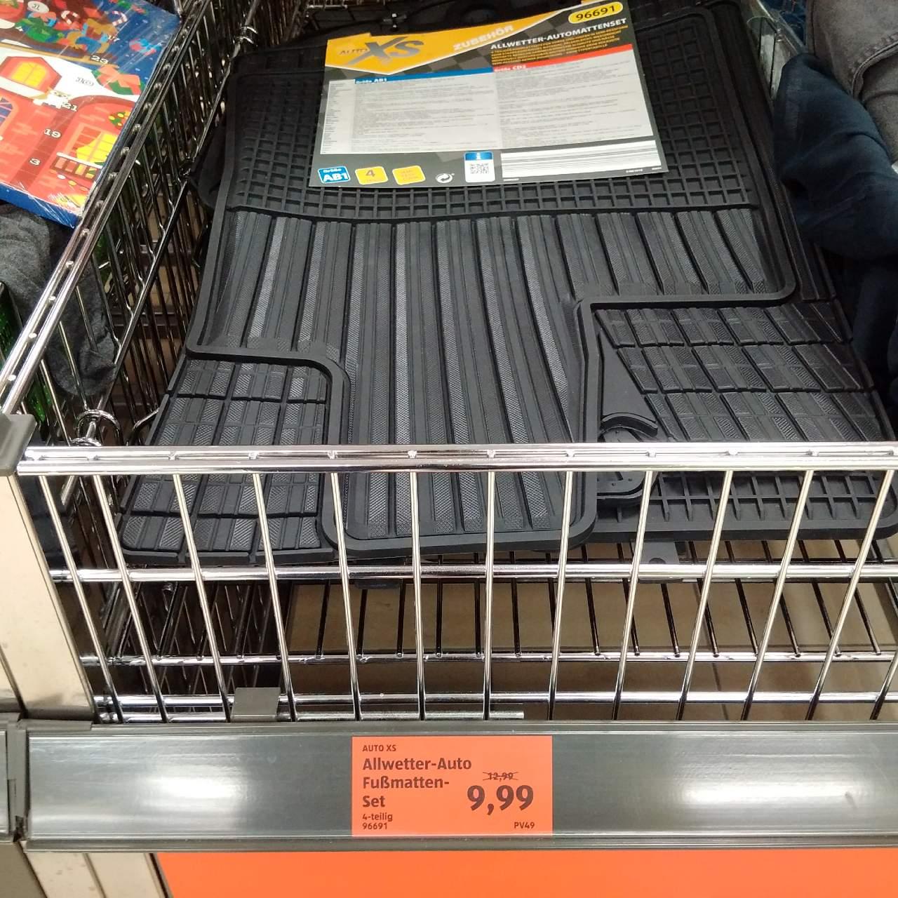 AUTO XS All-Wetter-Auto-Fußmatten-Set - jetzt 23% billiger