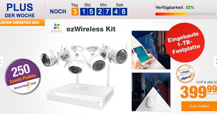 Ezviz ezWireless Überwachungskamera-Kit - jetzt 19% billiger