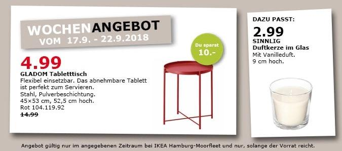 ikea hamburg moorfleet gladom tabletttis f r 4 99 67. Black Bedroom Furniture Sets. Home Design Ideas