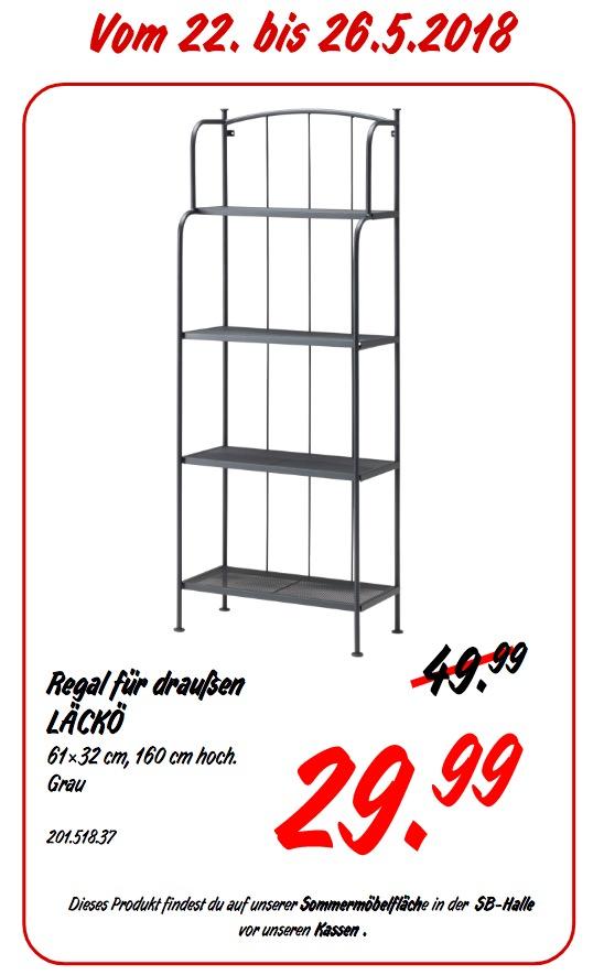 Ikea Lacko Regal Fur Draussen Fur 29 99 40