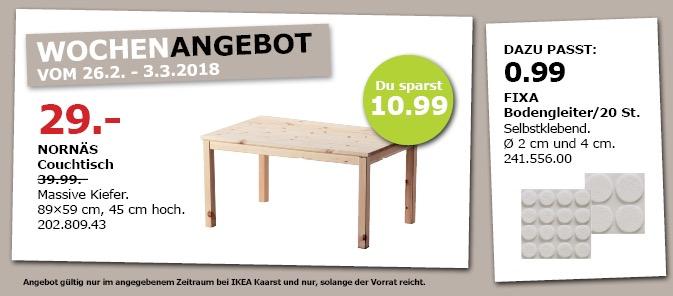 IKEA NORNÄS Couchtisch - jetzt 27% billiger