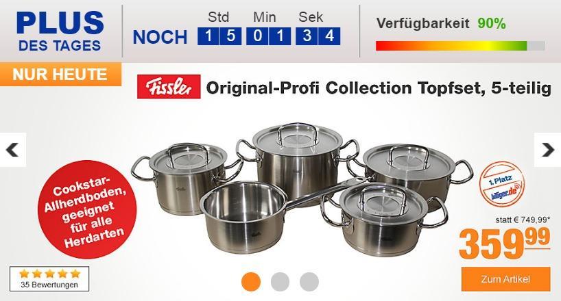 Fissler Original Profi Collection 5 Teili Für 35999 10