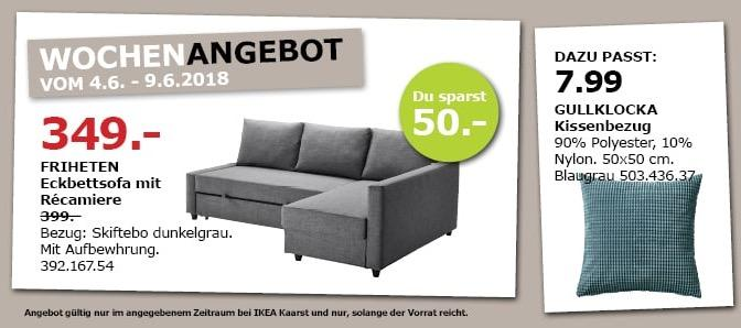 ikea friheten ecksofa mit recamiere f r 349 00 13. Black Bedroom Furniture Sets. Home Design Ideas