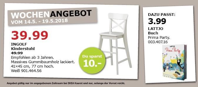 IKEA INGOLF Kinderstuhl Fur 3999EUR 20