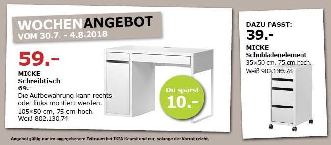 Ikea Kaarst Micke Schreibtisch Für 5900 14