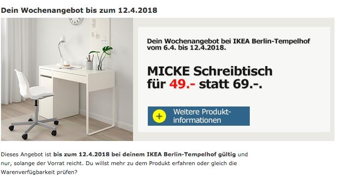 Ikea Micke Schreibtisch Für 4900 29