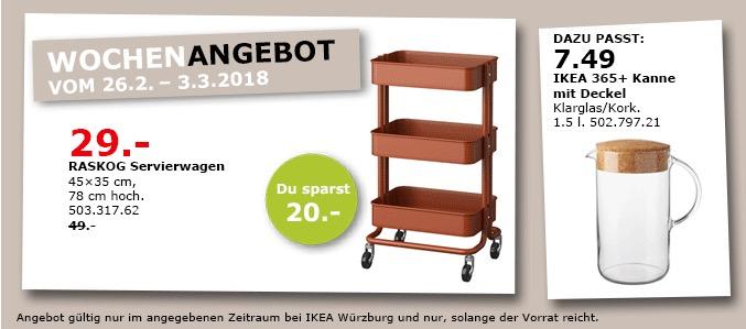 ikea raskog servierwagen f r 29 00 41. Black Bedroom Furniture Sets. Home Design Ideas