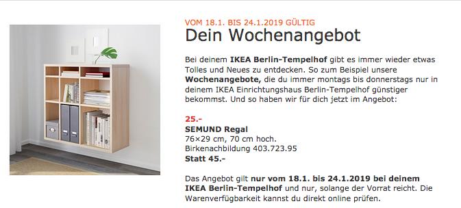 Ikea Semund Regal Birkenachbildung Für 2500 44