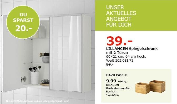 Ikea Sindelfingen Lillangen Spiegelschra Für 3900 34