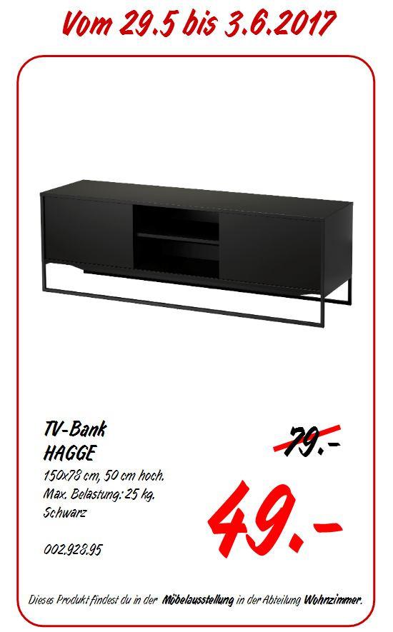 hagge tv bank. Black Bedroom Furniture Sets. Home Design Ideas