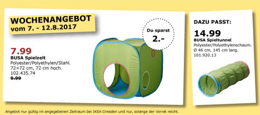 IKEA BUSA Spielzelt 72x72 Cm 72 Hoch Fur 799EUR 20