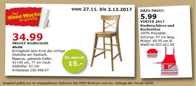 IKEA INGOLF Kinderstuhl Fur 3499EUR 30