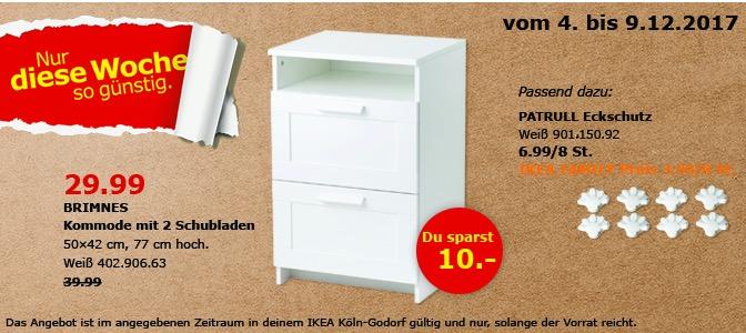 IKEA BRIMNES Kommode Fur 2999EUR 25