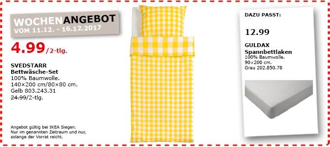 Ikea Svedstarr Bettwäsche Set Für 499 80