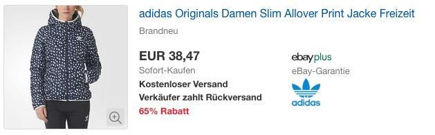 adidas Originals Slim Allover Damen Winterjacke