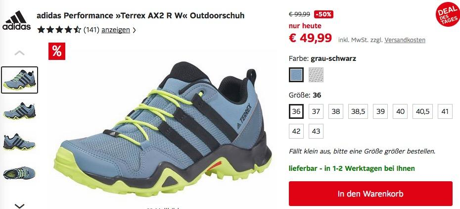 "adidas Performance ""Terrex AX2 R W"" Damen Outdoorschuh"