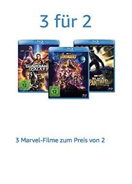 Amazon - Aktion: 3 Marvel-Filme zum Preis von 2