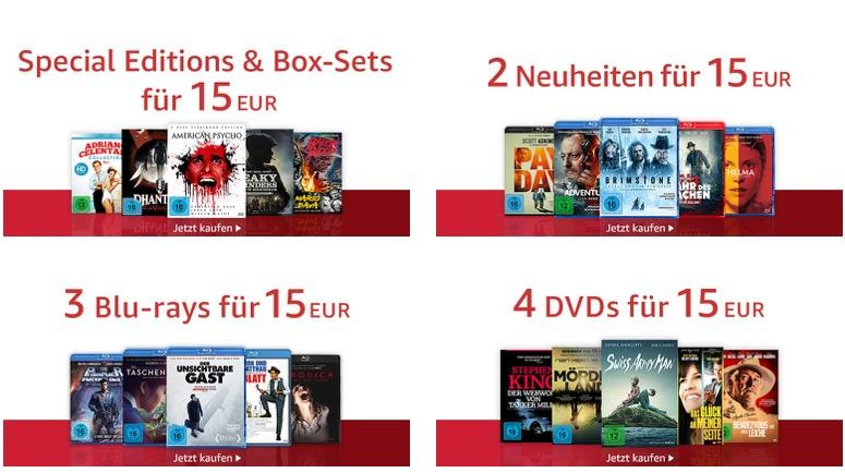 Amazon: Koch Media - 15€ Aktion, z.B. Peaky Blinders - Gangs of Birmingham - Staffel 1&2 [Blu-ray]