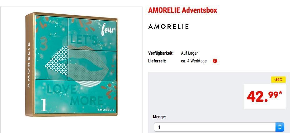 AMORELIE erotische Adventsbox 2018