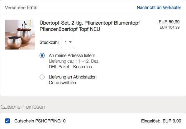 "Blumenübertopf-Set ""Silber"" 2 Größen 30 cm Ø + 40 cm Ø, Aluminium"