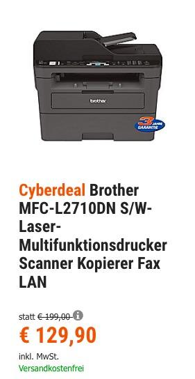 Brother MFC-L2710DN S/W-Laser-Multifunktionsdrucker