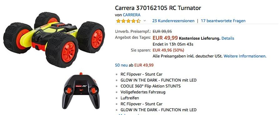 Carrera RC Turnator Glow in the dark