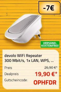 devolo WiFi Repeater 300 Mbit/s