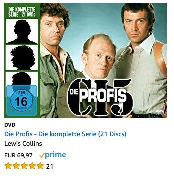 Die Profis - Die komplette Serie DVD (21 Discs)