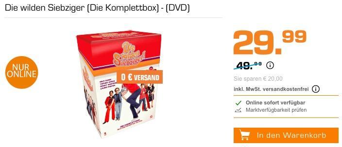 Die wilden Siebziger (Die Komplettbox) - (DVD)