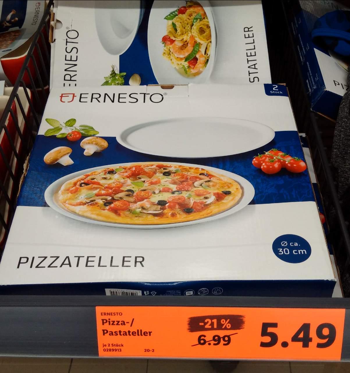 ERNESTO Pizzateller 30 cm 2 Stück