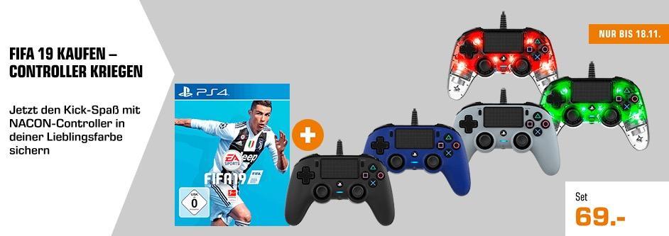FIFA 19 PS4 + einen Nacon Controller nach Wahl