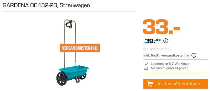 GARDENA Streuwagen L 12.5 Liter (00432-20 )