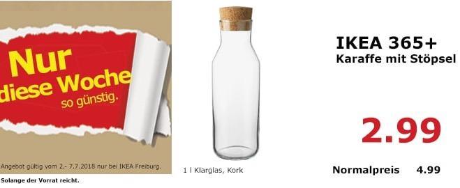 IKEA 365+ Karaffe mit Stöpsel
