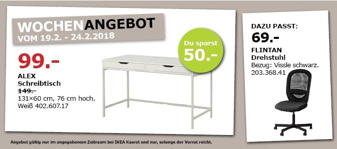 IKEA ALEX Schreibtisch