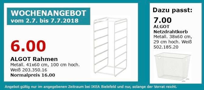 IKEA ALGOT Rahmen
