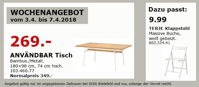 IKEA ANVÄNDBAR Tisch
