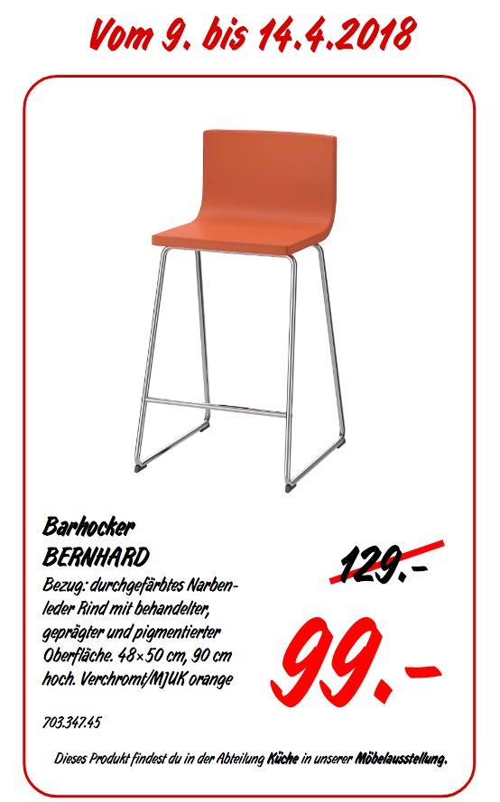 IKEA BERNHARD Barhocker