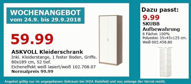 IKEA Bielefeld - ASKVOLL Kleiderschrank