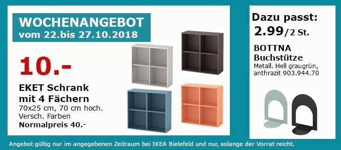 IKEA Bielefeld - EKET Schrank mit 4 Fächern