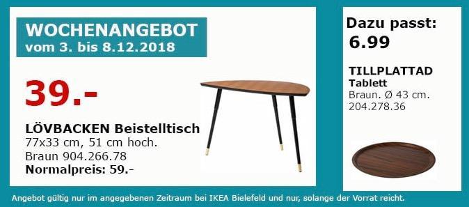 IKEA Bielefeld - LÖVBACKEN Beistelltisch, braun
