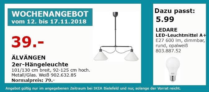 IKEA Bielefeld - ÄLVÄNGEN 2er-Hängeleuchte
