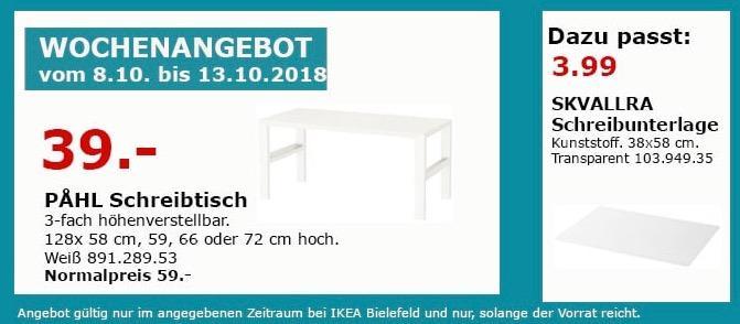 IKEA Bielefeld - PAHL Schreibtisch