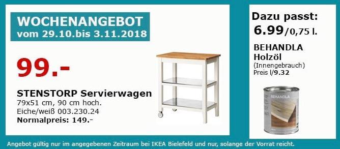IKEA Bielefeld - STENSTORP Servierwagen