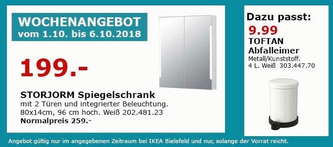 IKEA Bielefeld - STORJORM Spiegelschrank