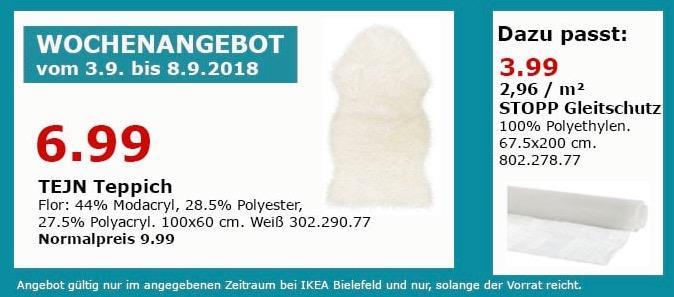 IKEA Bielefeld - TEJN Teppich