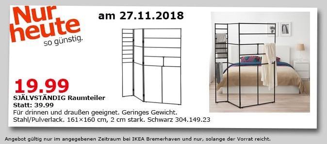 IKEA Bremerhaven - SJÄLVSTÄNDIG Raumteiler