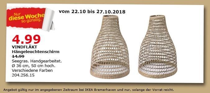 IKEA Bremerhaven - VINDFLÄKT Hängeleuchtenschirm