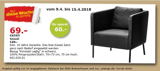 IKEA EKERÖ Sessel