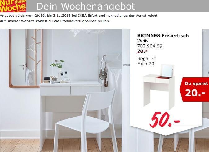 IKEA Erfurt - BRIMNES Frisiertisch