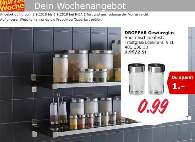 IKEA Erfurt - DROPPAR Gewürzglas, 9cl., 2 St.